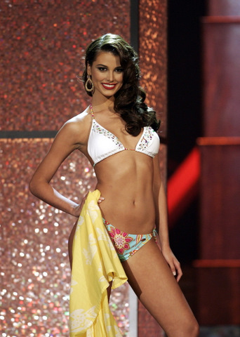 The most beautiful girl in the universe - Miss Universe 2009 Stefania Fernandez of Venezuela